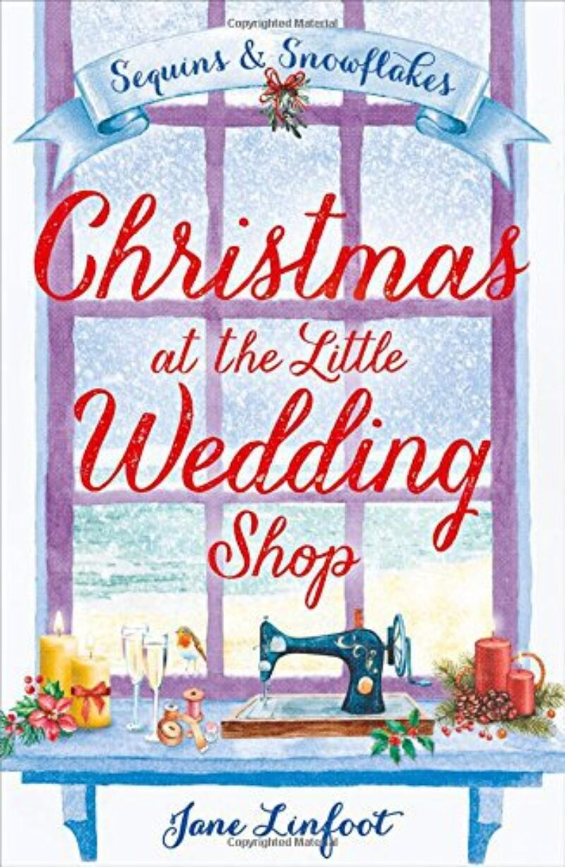 Book cover for 'Christmas at the Little Wedding Shop'