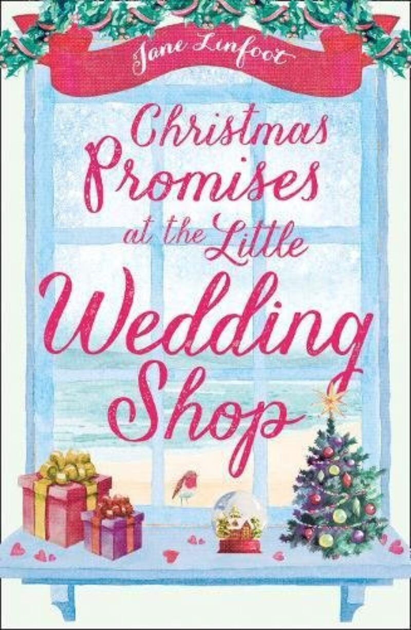 Book cover for 'Christmas Promises at the Little Wedding Shop'