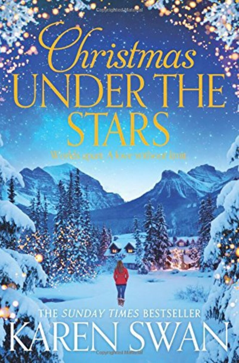 Book cover for 'Christmas Under the Stars'