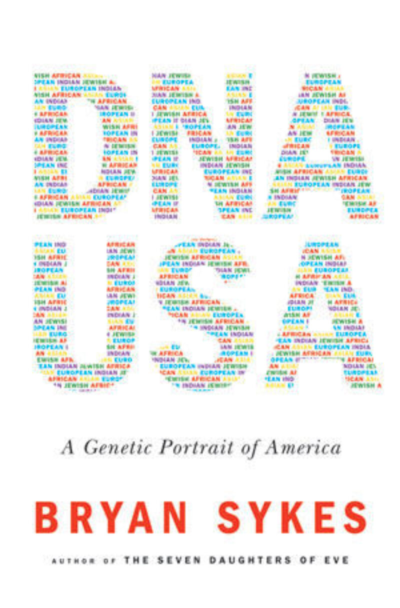 Book cover for 'DNA USA'