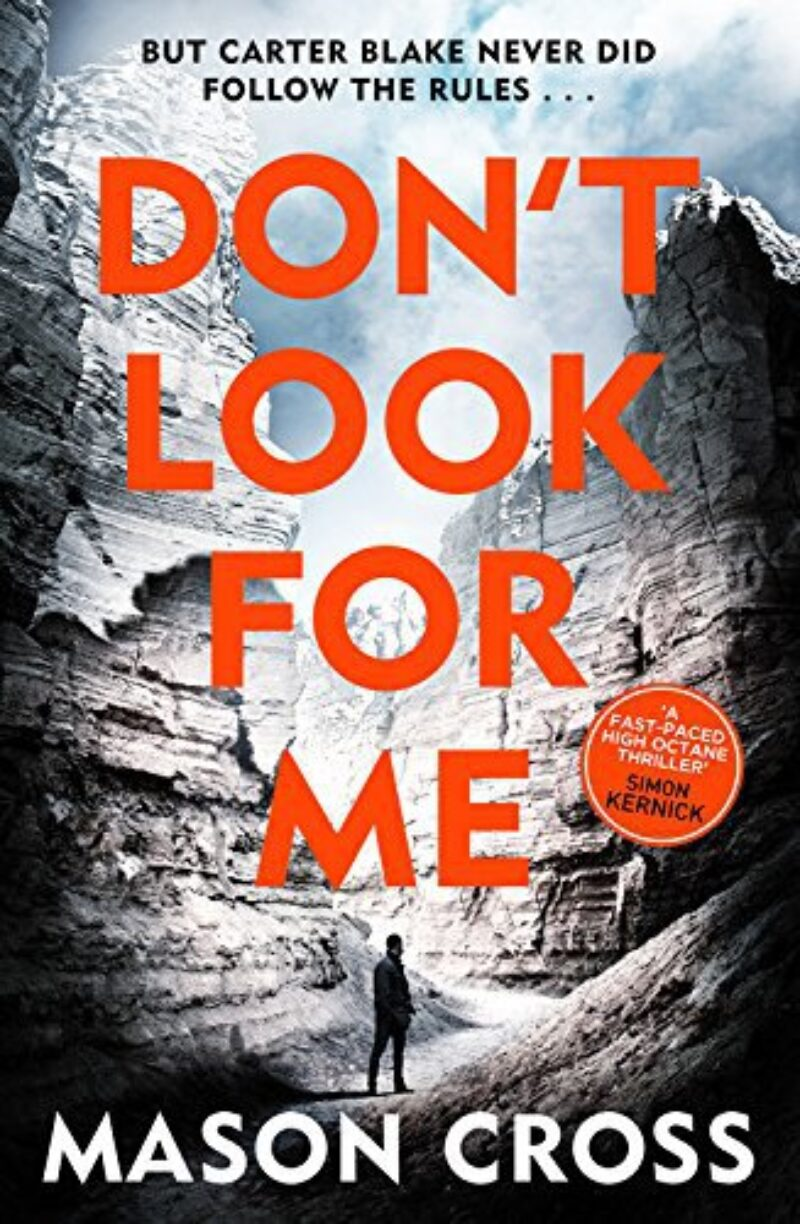 Book cover for 'Don't Look For Me'