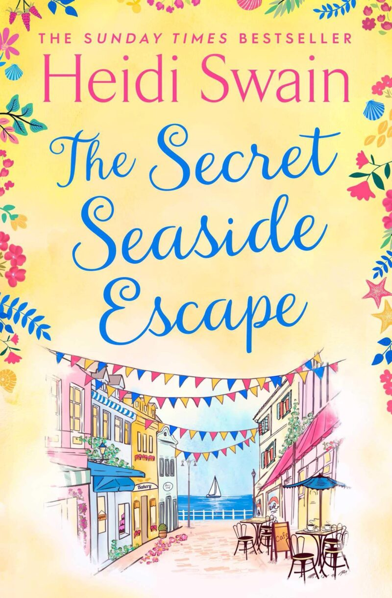 Book cover for 'The Secret Seaside Escape'