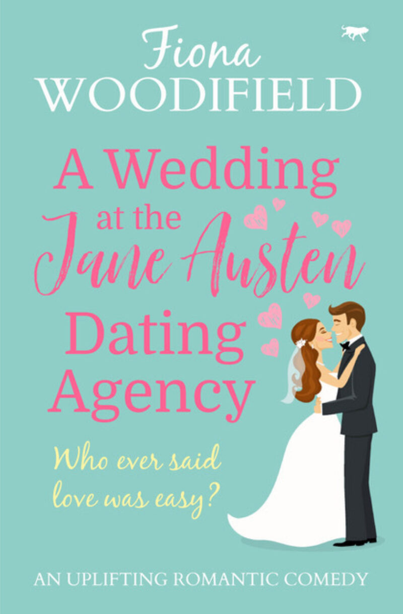 Book cover for 'A Wedding at the Jane Austen Dating Agency'