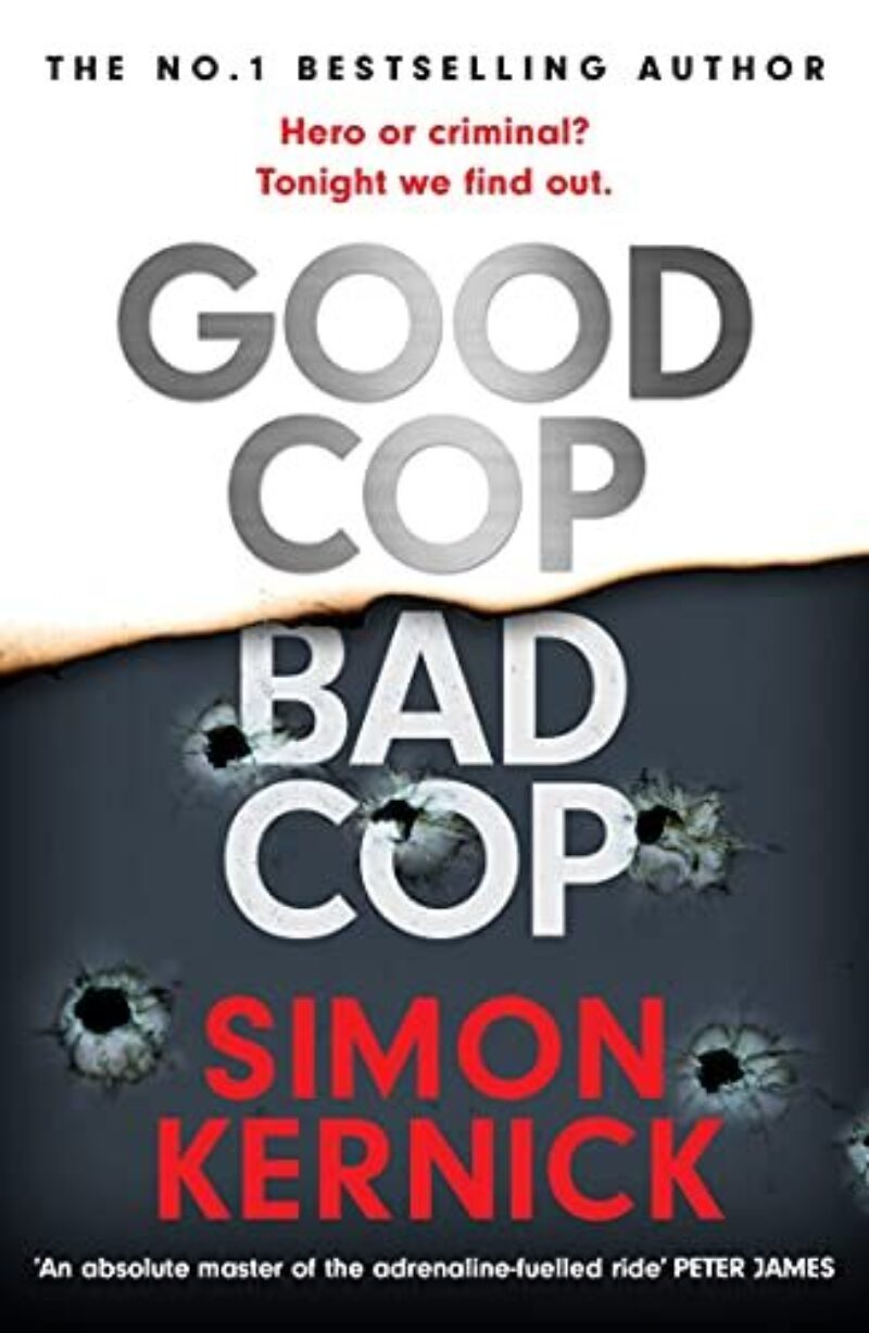 Book cover for 'Good Cop, Bad Cop'