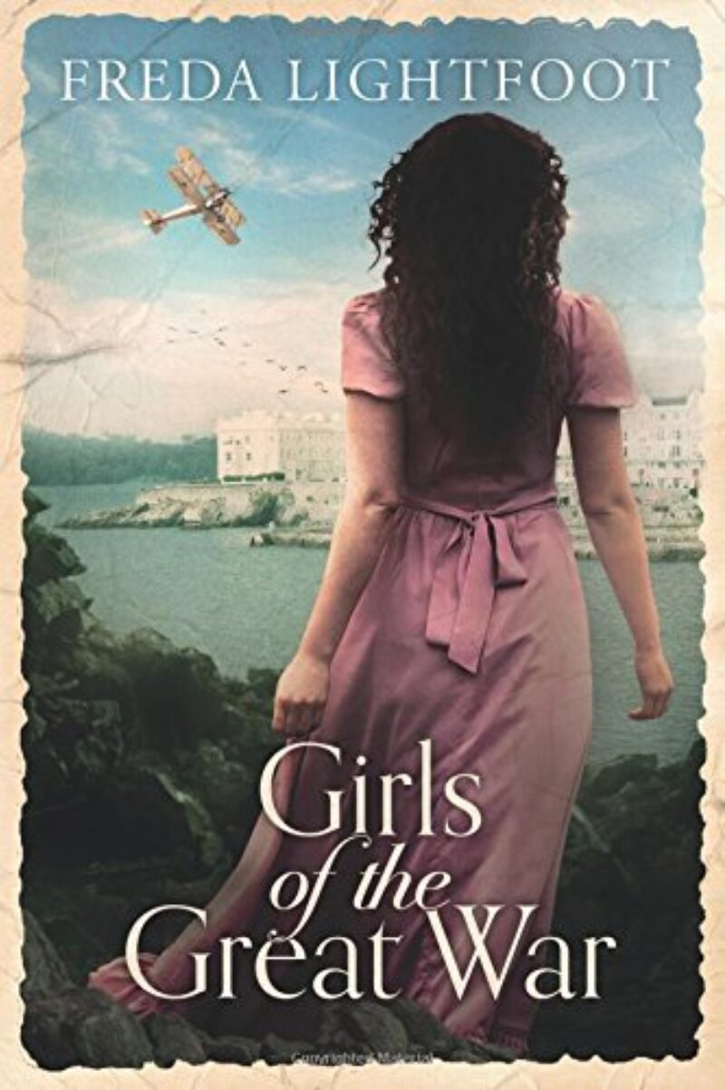 Book cover for 'Girls of the Great War'