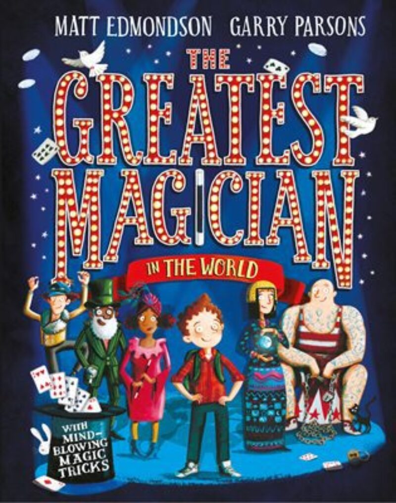 Book cover for 'The Greatest Magician In The World'