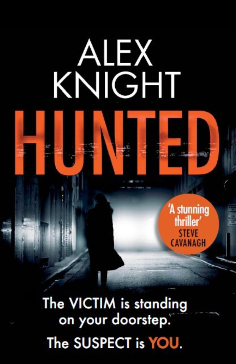 Book cover for 'Hunted'