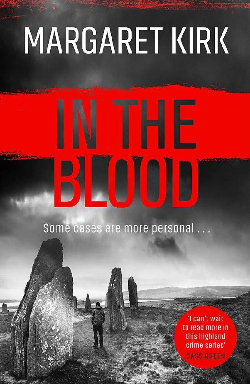 Book cover for 'In The Blood'