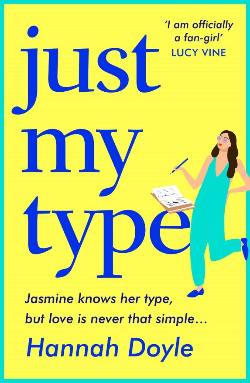 Book cover for 'Just My Type'