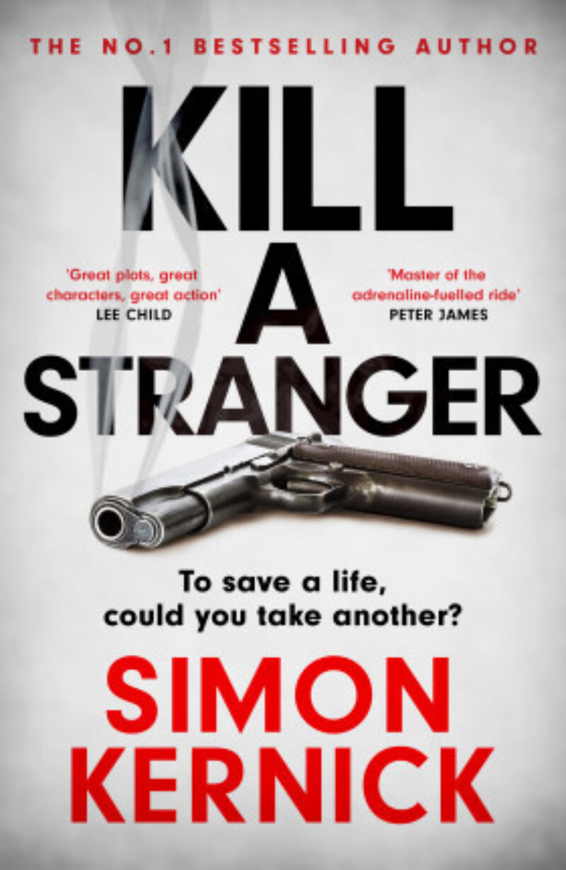 Book cover for 'Kill a Stranger'
