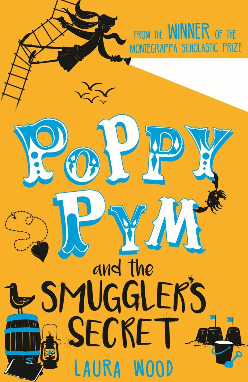 Book cover for 'Poppy Pym And The Smuggler's Secret'