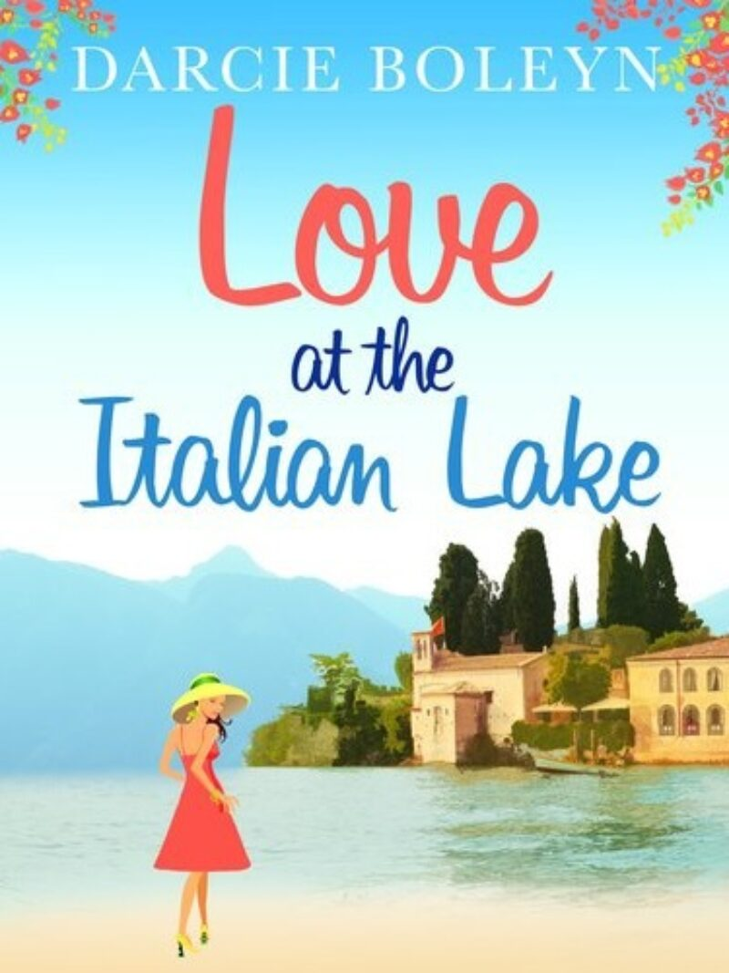 Book cover for 'Love at the Italian Lake'
