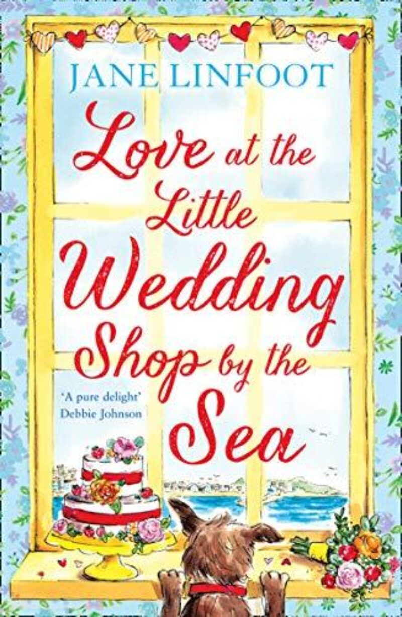 Book cover for 'Love at the Little Wedding Shop by the Sea'