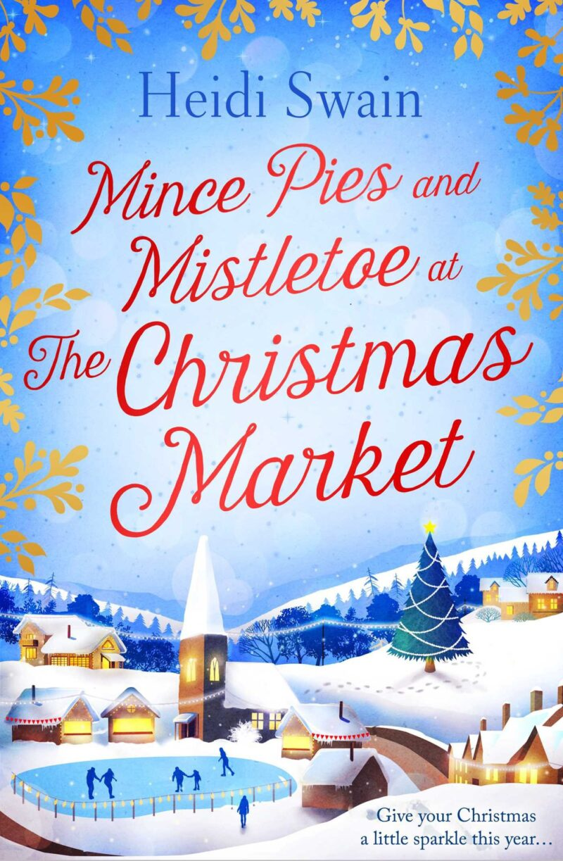 Book cover for 'Mince Pies and Mistletoe at the Christmas Market'