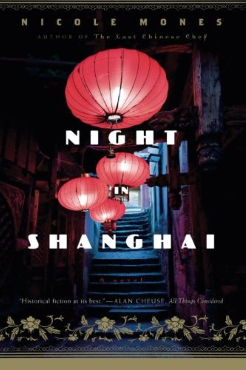 Book cover for 'Night In Shanghai'