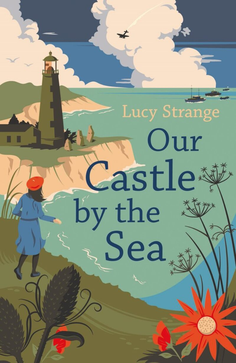 Book cover for 'Our Castle by the Sea'