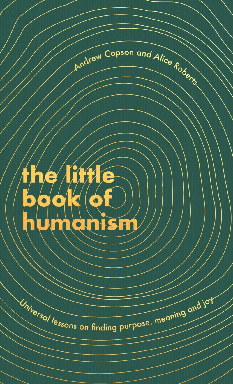 Book cover for 'The Little Book of Humanism'