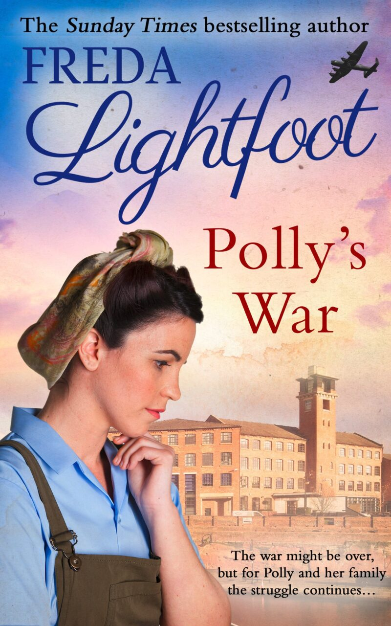 Book cover for 'Polly's War'
