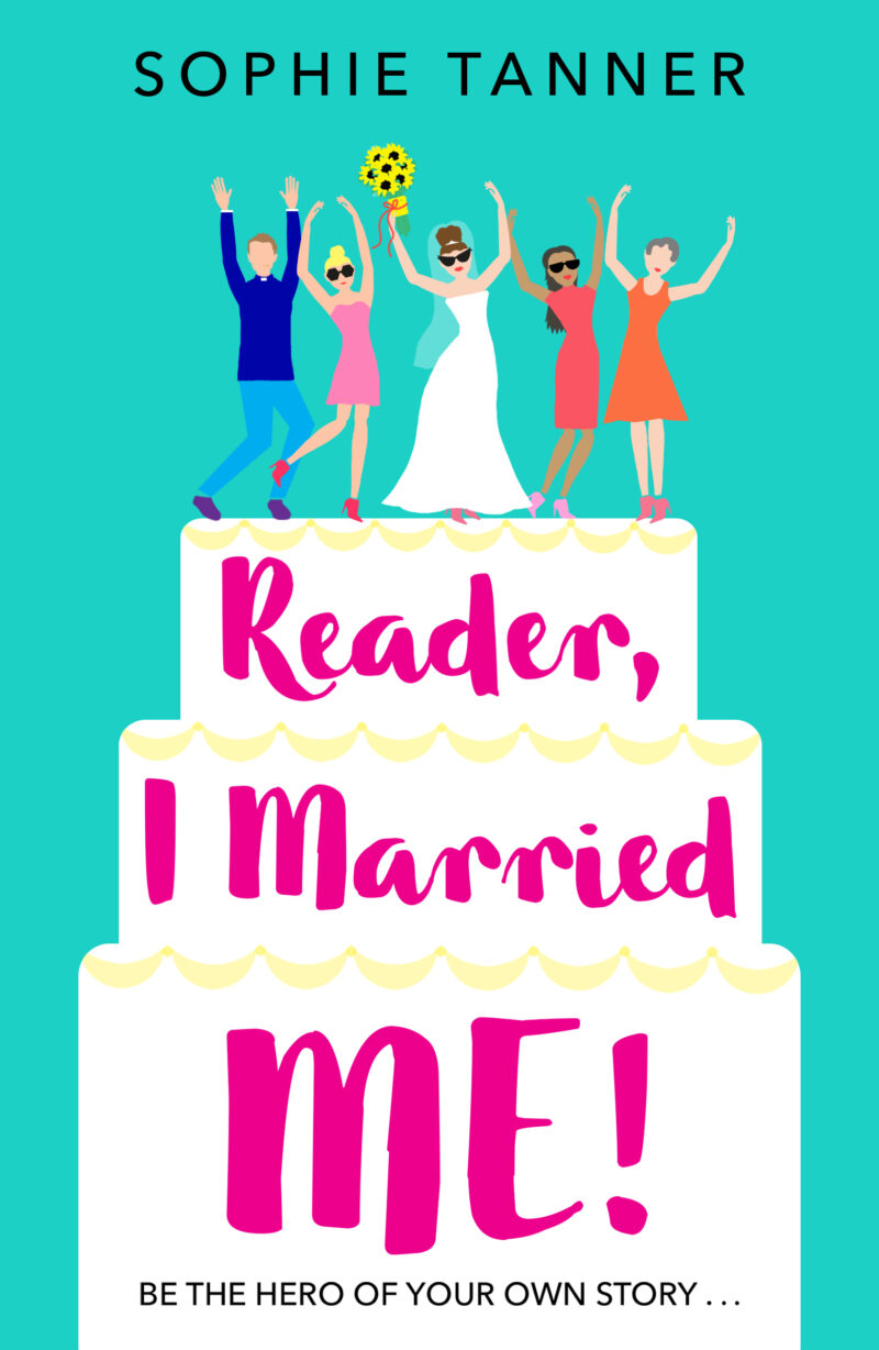 Book cover for 'Reader, I Married Me!'