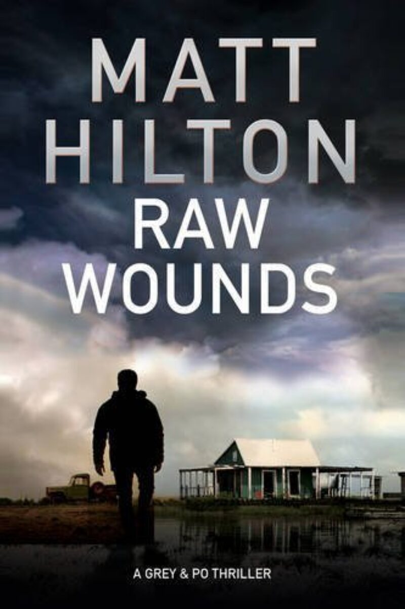 Book cover for 'Raw Wounds'