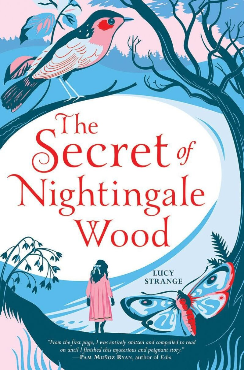 Book cover for 'The Secret of Nightingale Wood'