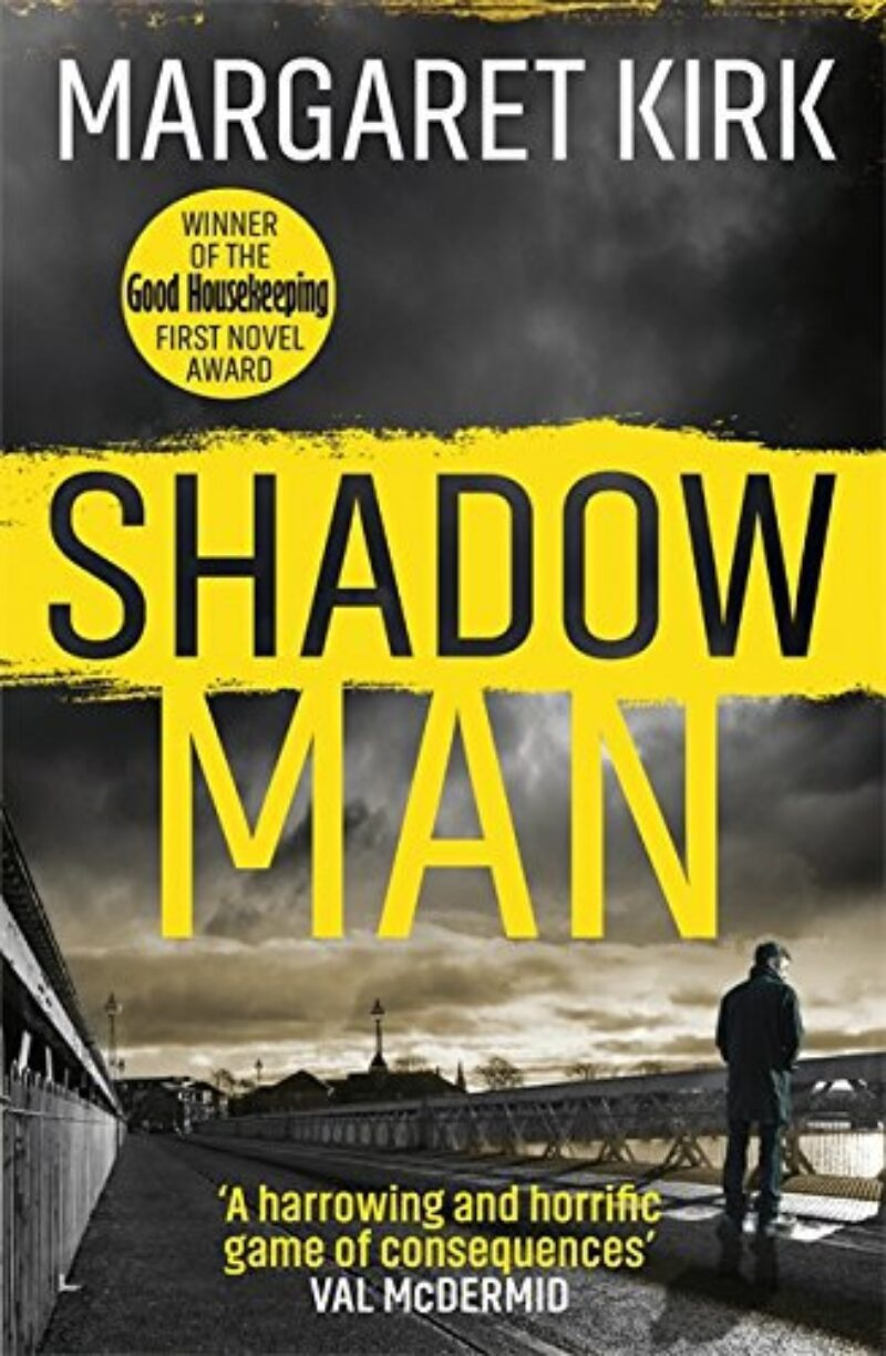 Book cover for 'Shadow Man'