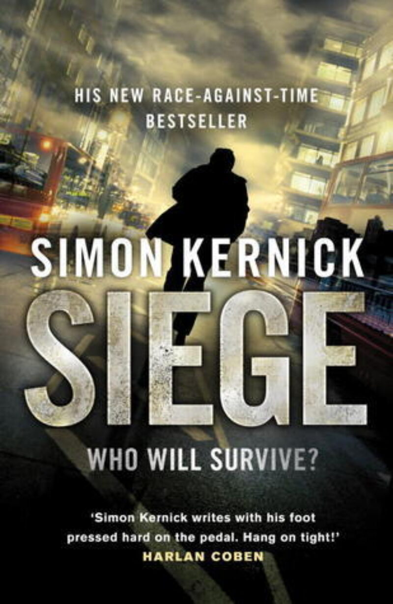 Book cover for 'Siege'