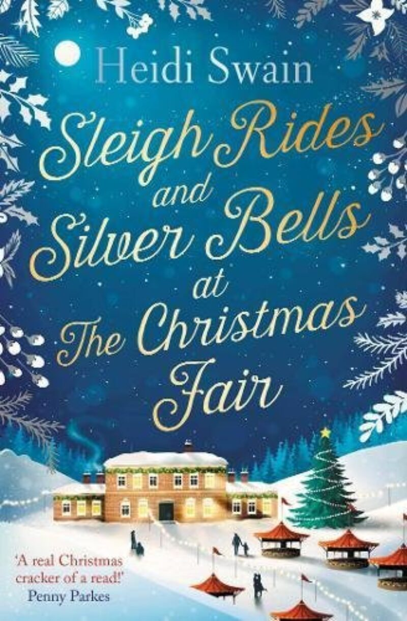 Book cover for 'Sleigh Rides and Silver Bells at the Christmas Fair'