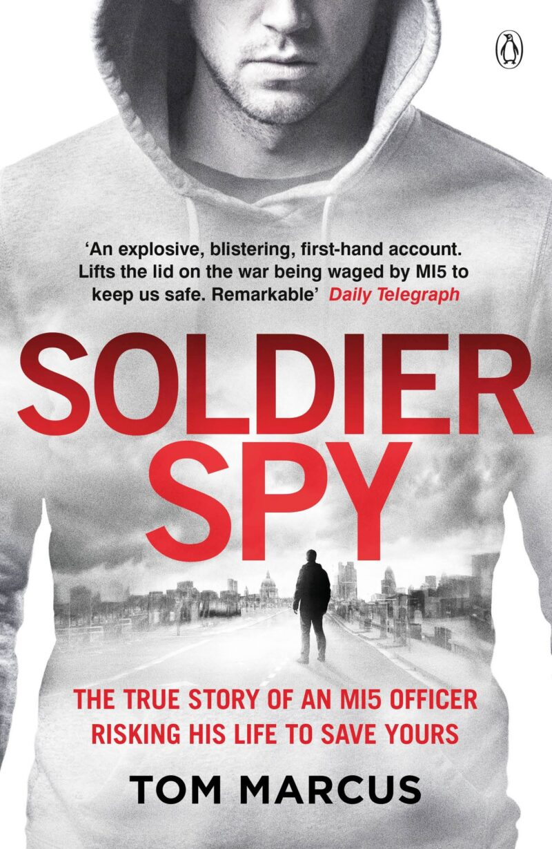 Book cover for 'Soldier Spy'