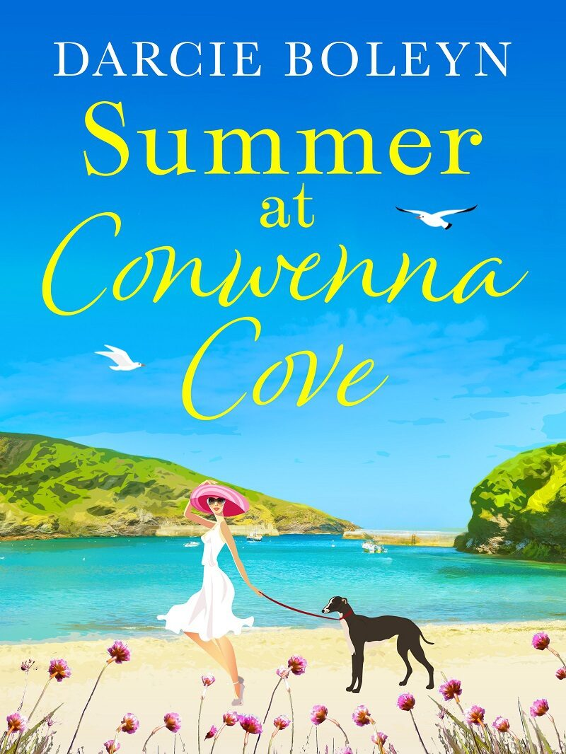 Book cover for 'Summer at Conwenna Cove'