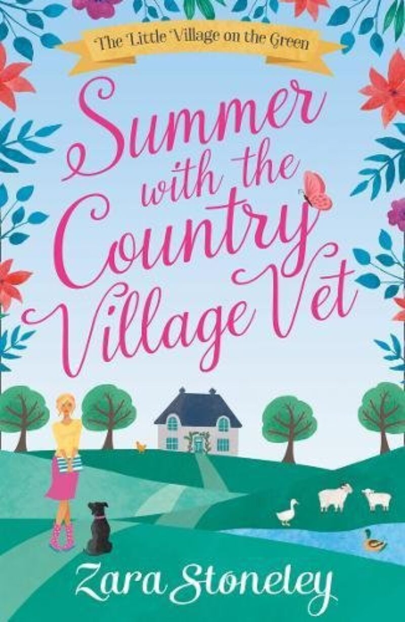 Book cover for 'Summer with the Country Village Vet'