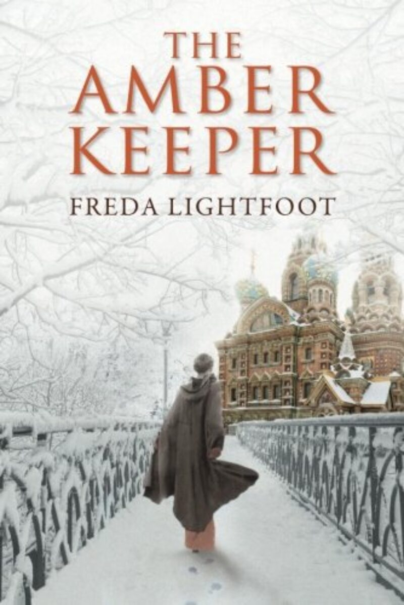 Book cover for 'The Amber Keeper'