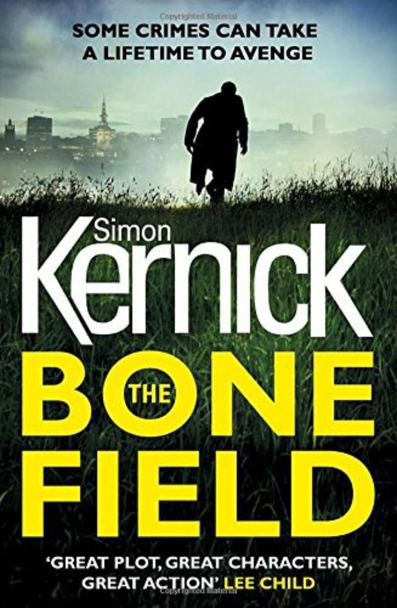 Book cover for 'The Bone Field'