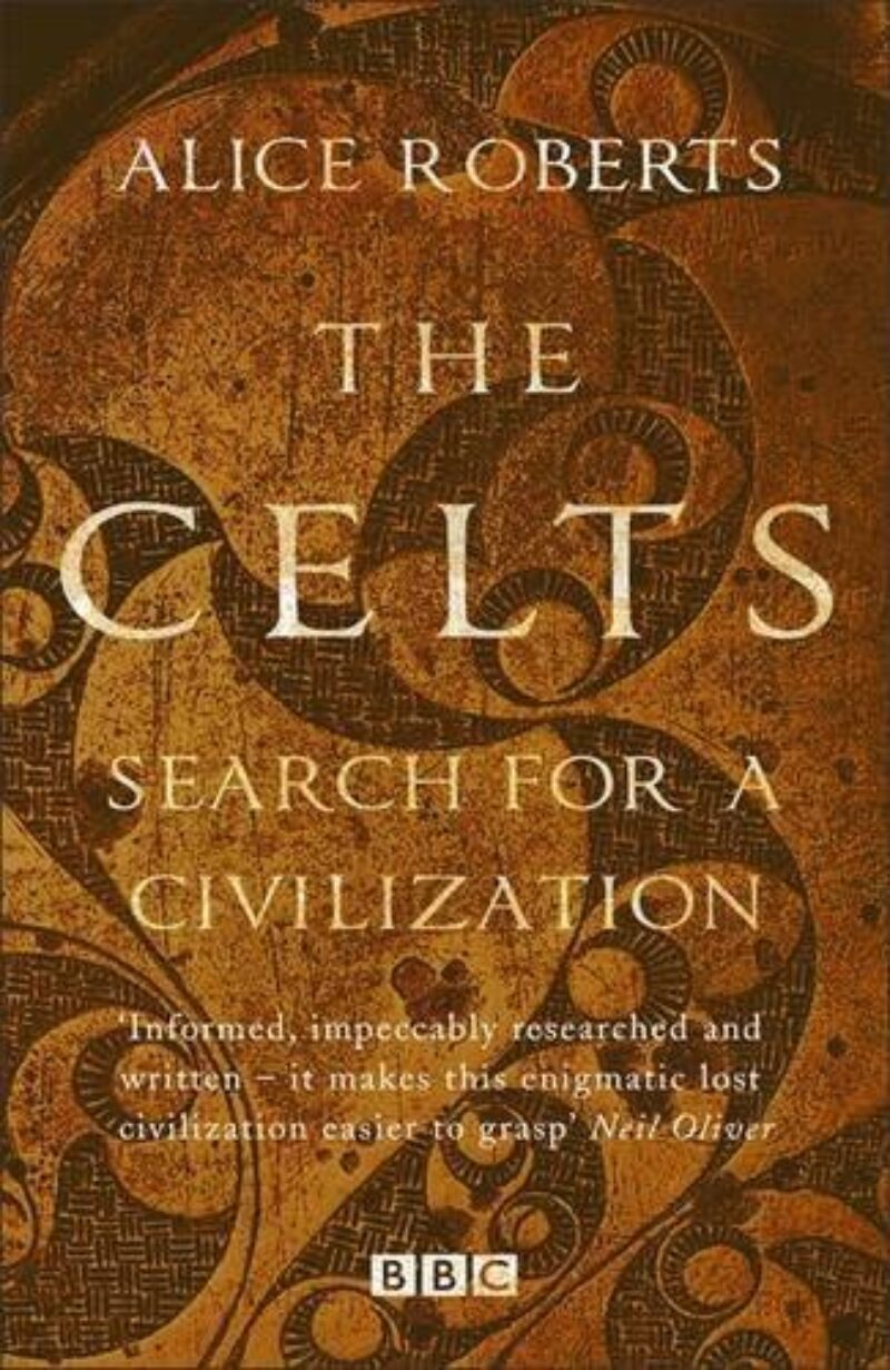 Book cover for 'The Celts'