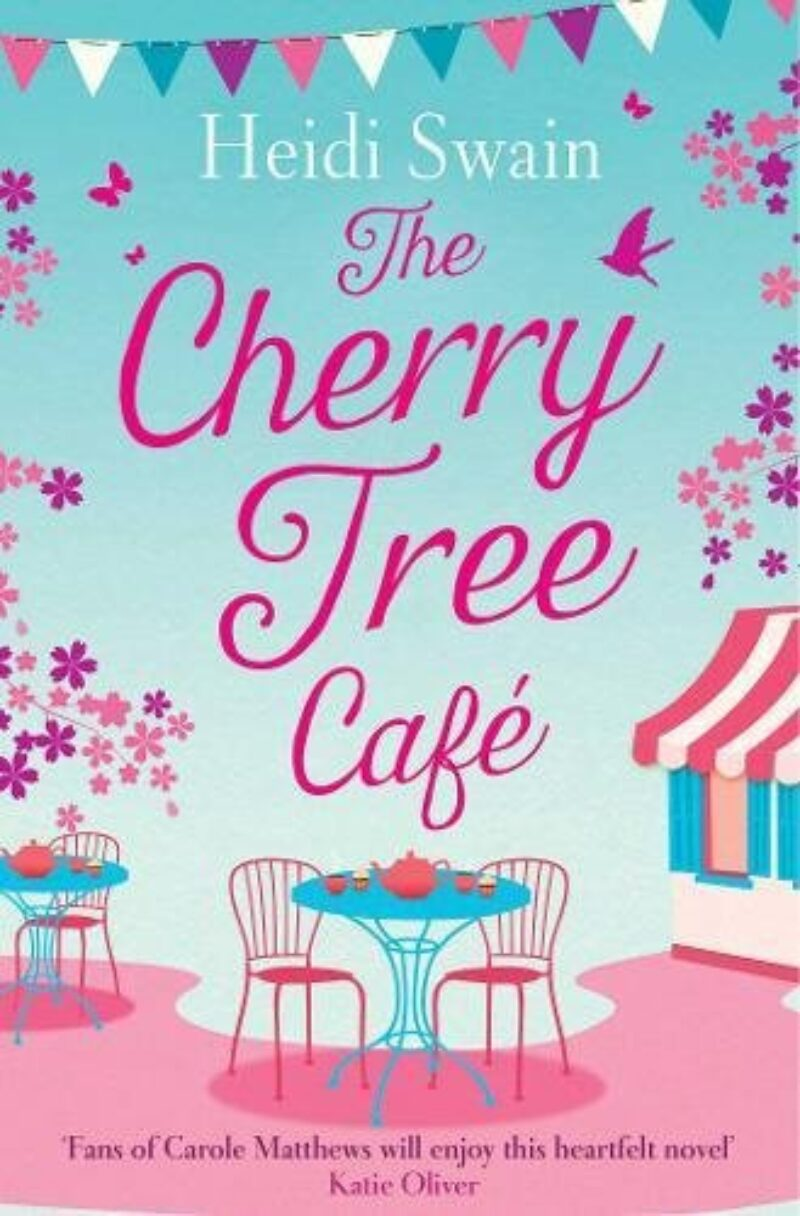 Book cover for 'The Cherry Tree Cafe'