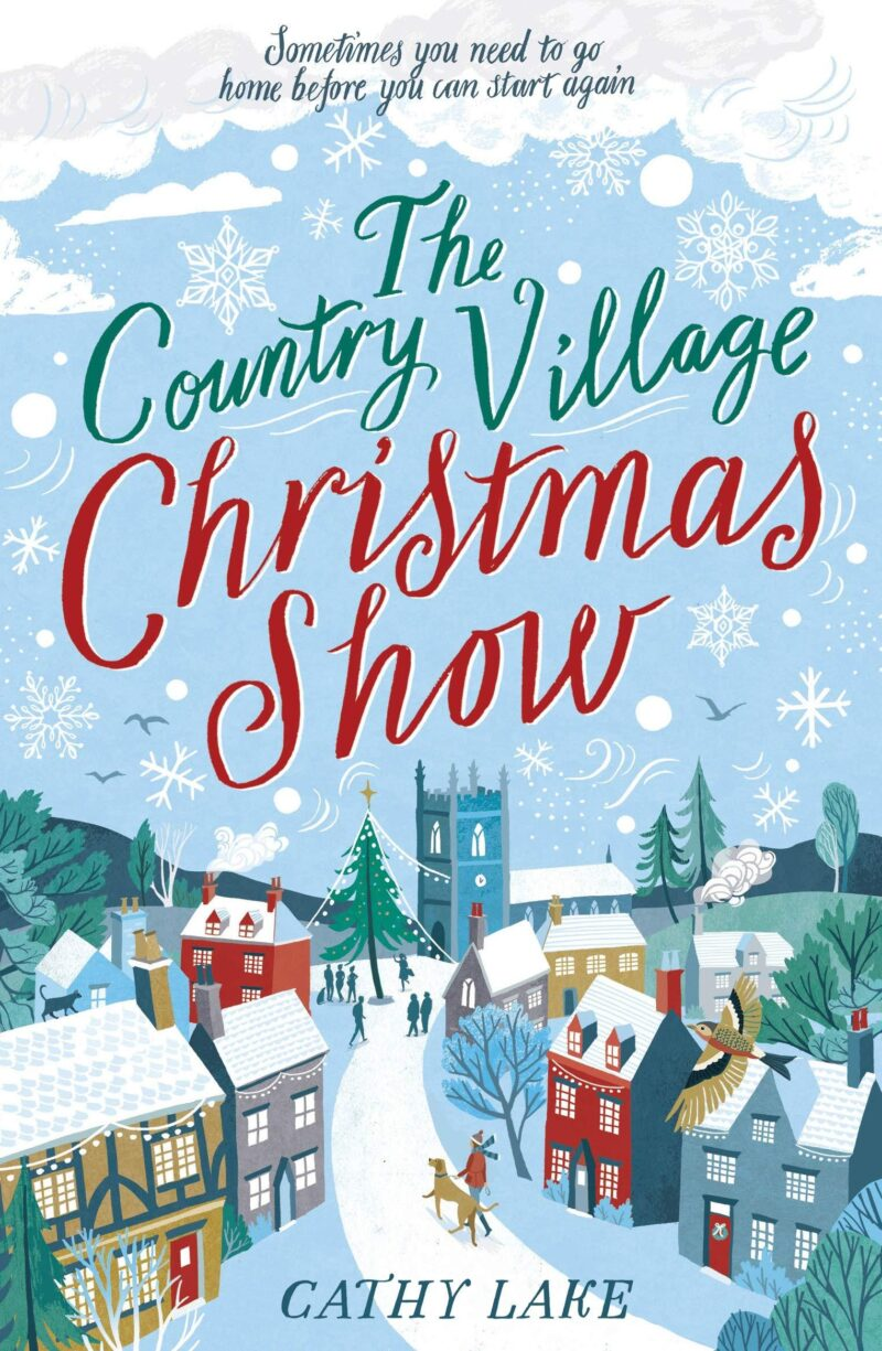 Book cover for 'The Country Village Christmas Show'