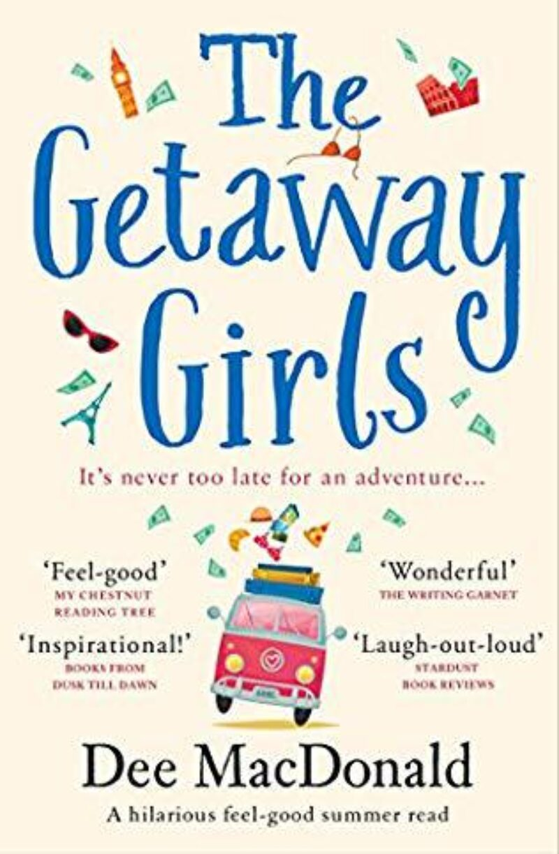 Book cover for 'The Getaway Girls'