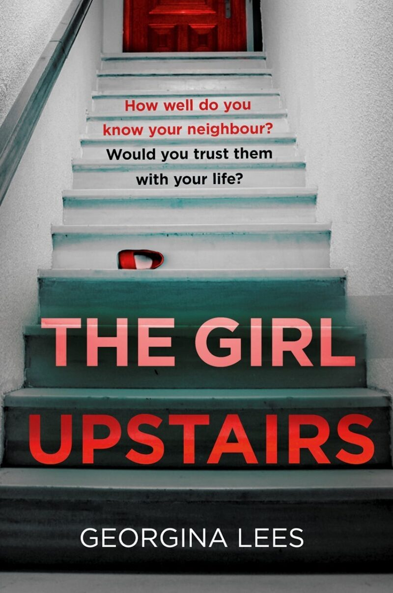 Book cover for 'The Girl Upstairs'