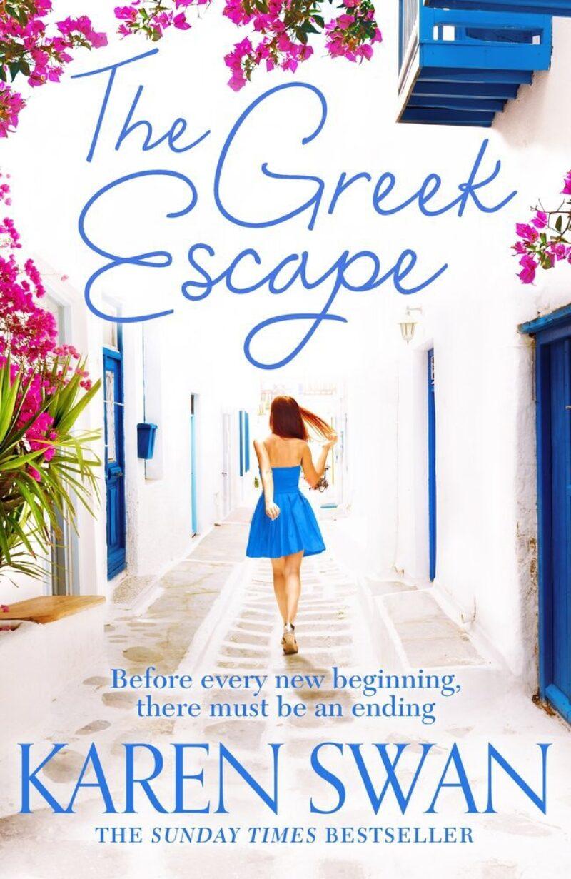 Book cover for 'The Greek Escape'