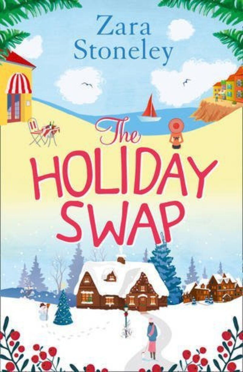 Book cover for 'The Holiday Swap'