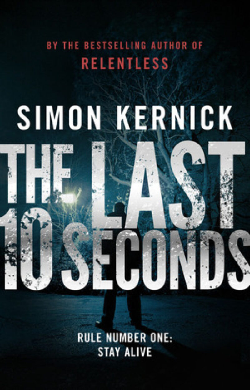 Book cover for 'The Last 10 Seconds'