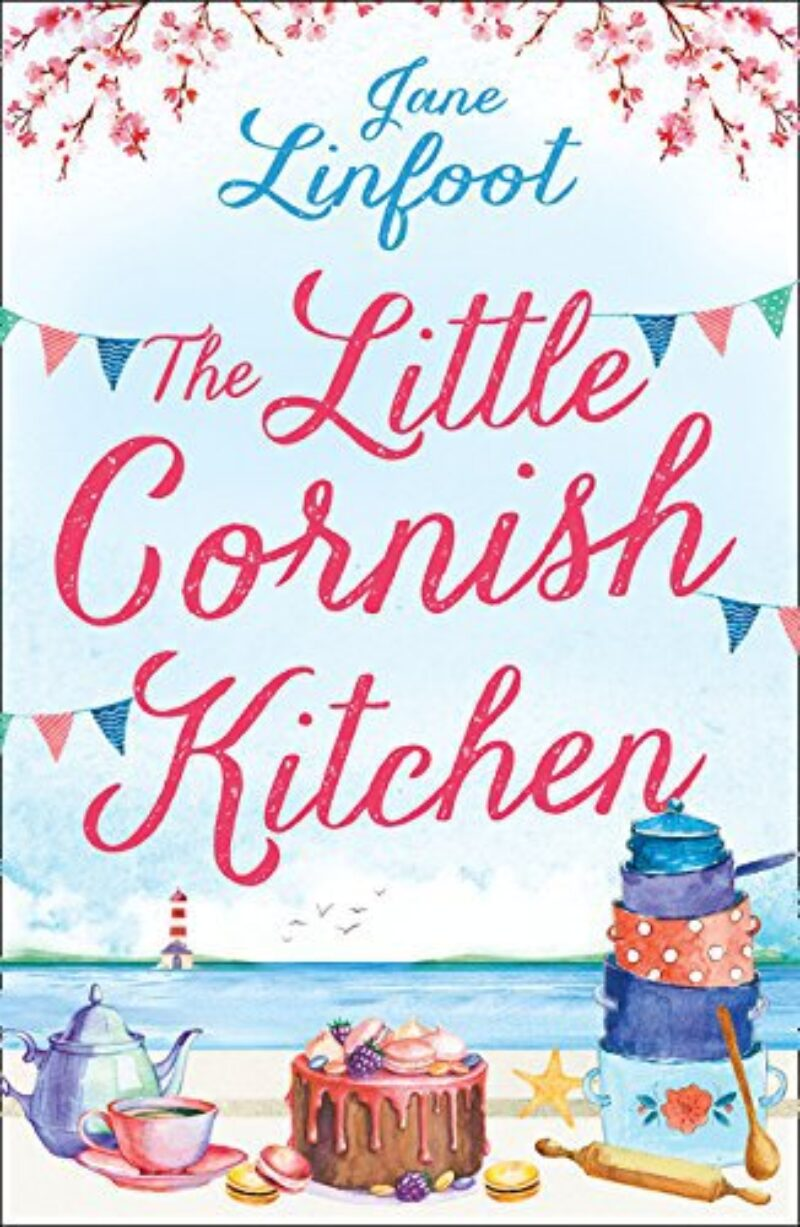 Book cover for 'The Little Cornish Kitchen'