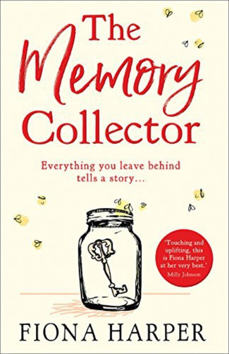 Book cover for 'The Memory Collector'