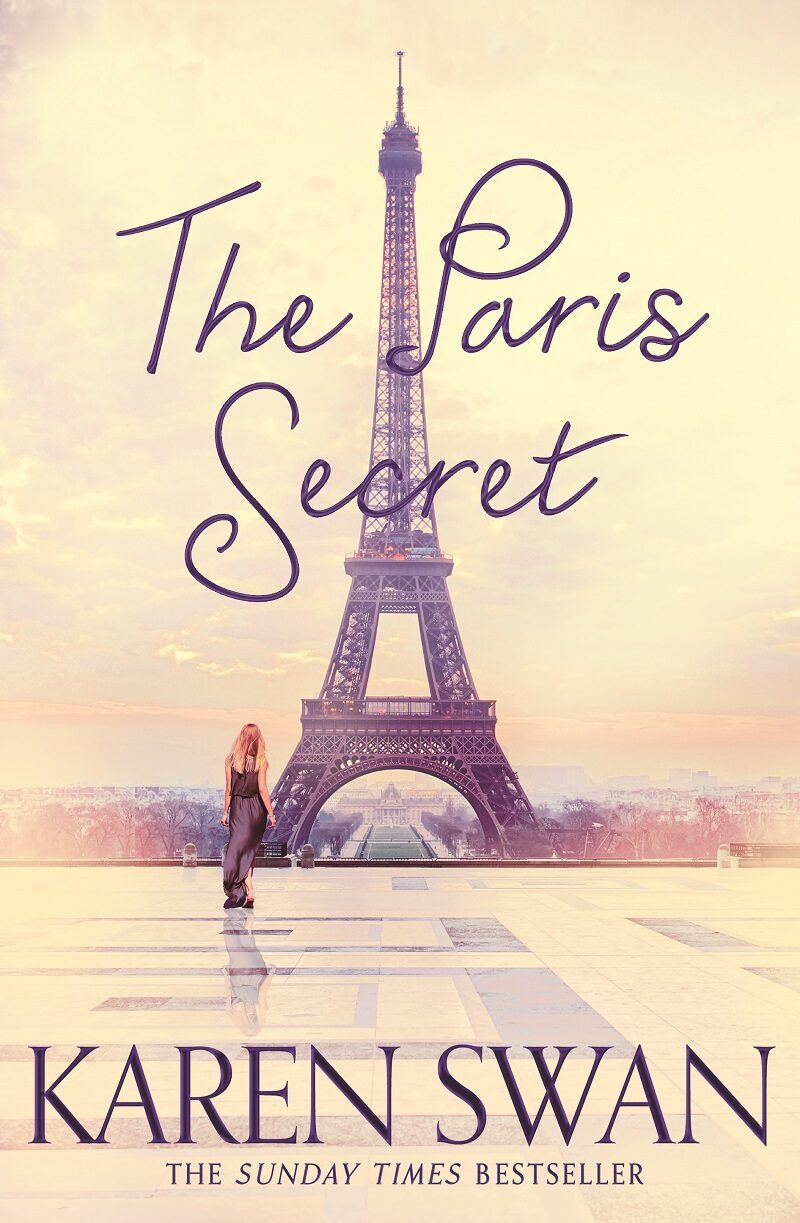 Book cover for 'The Paris Secret'