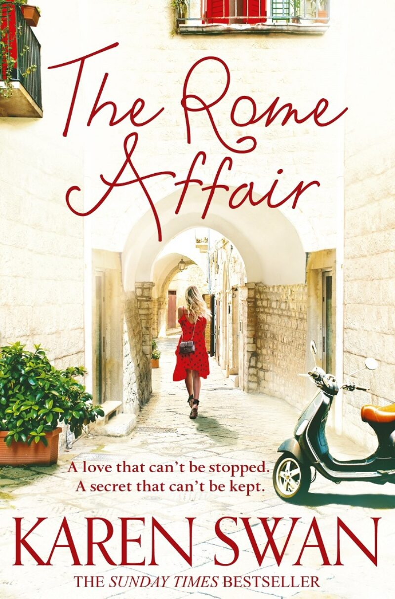 Book cover for 'The Rome Affair'
