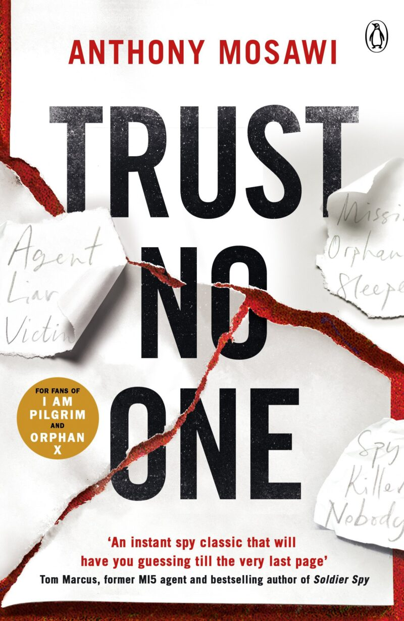 Book cover for 'Trust No One'