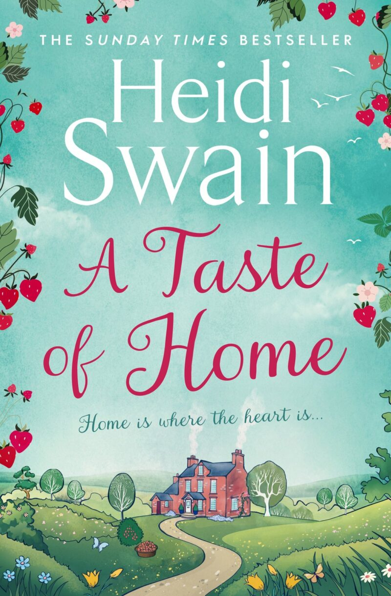 Book cover for 'A Taste Of Home'