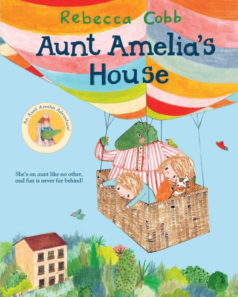 Book cover for 'Aunt Amelia's House'