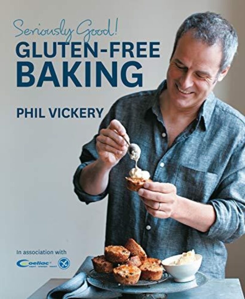 Book cover for 'Seriously Good! Gluten-Free Baking'