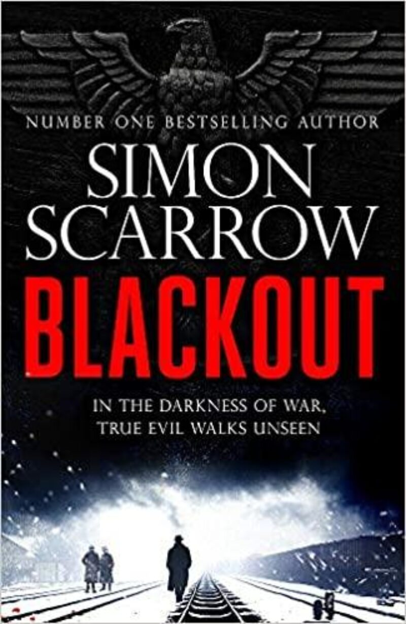Book cover for 'Blackout'